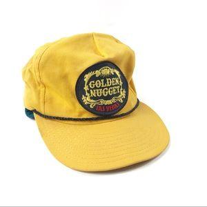 Vintage Golden Nugget Snapback